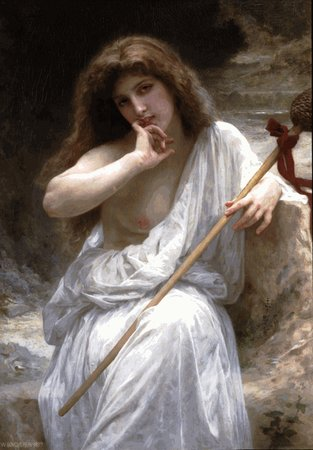 William Bouguereau Bacchante oil painting