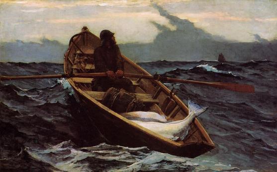Winslow Homer The Fog Warning