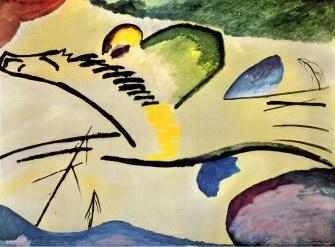 Wassily Kandinsky Man on a Horse