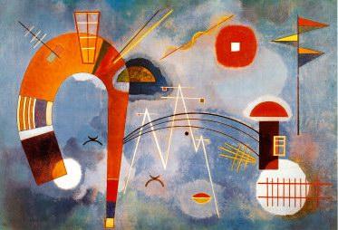 Wassily Kandinsky Rond et Pointu