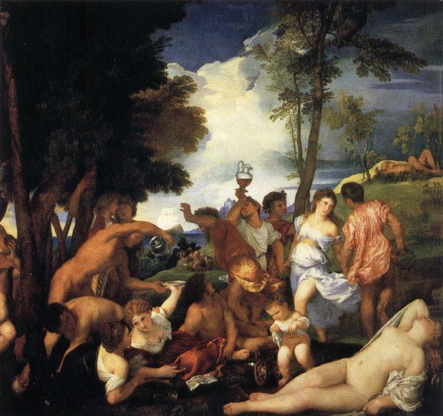 Bacchanal of the Andrians