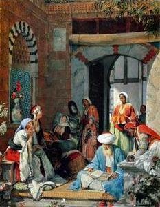 Arab or Arabic people and life. Orientalism oil paintings 30