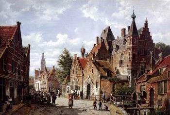 European city landscape, street landsacpe, construction, frontstore, building and architecture.006