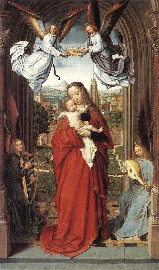Virgin and Child with Four Angels de
