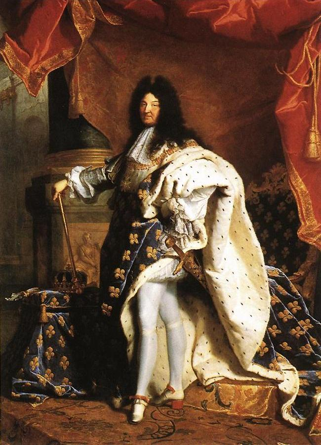 Portrait of Louis XIV gfj