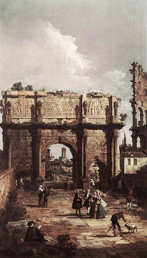 Rome: The Arch of Constantine ffg