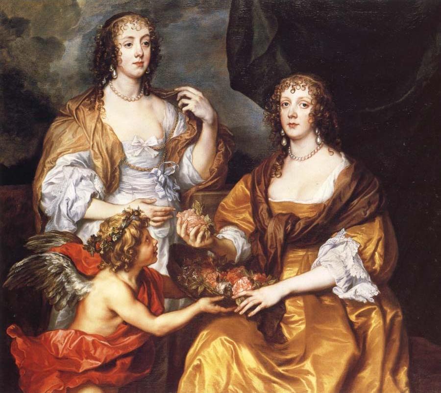 Lady Elizabeth Thimbelby and Dorothy,Viscountess Andover