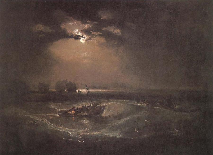Fishmen at sea