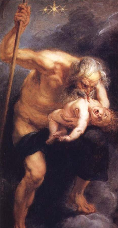 Saturn Devouring his son