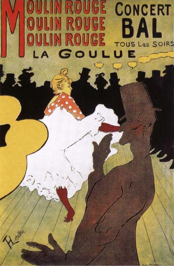 La Goulue,Dance at the Moulin Rouge