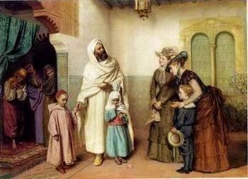 Arab or Arabic people and life. Orientalism oil paintings 22