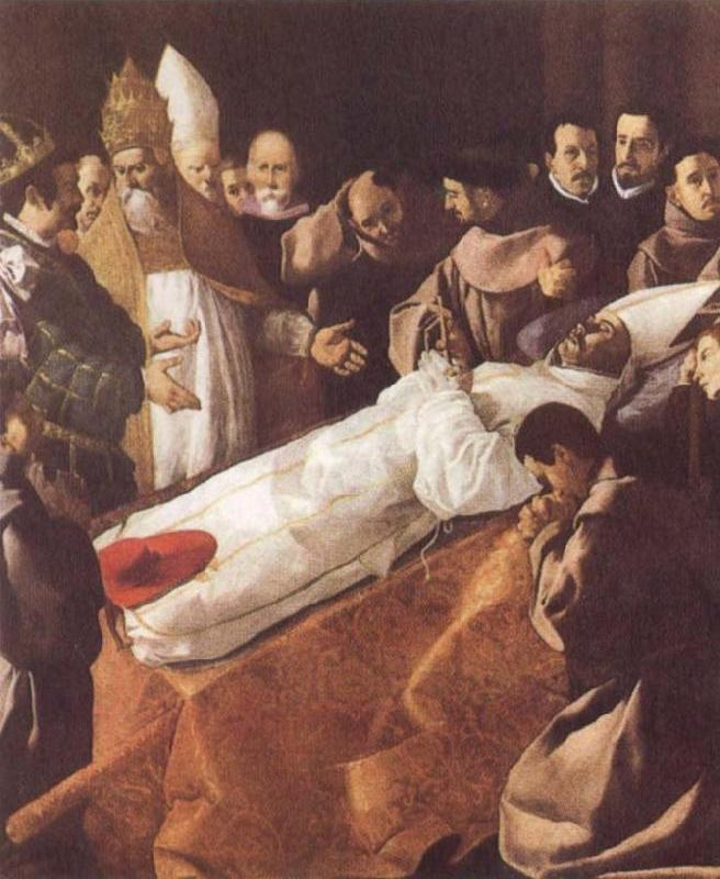 The Lying-in-State of St Bonaventure