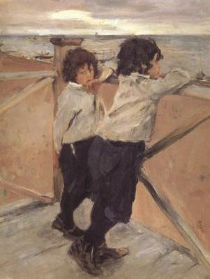 The Children Shasha and Iura Serov (nn02)