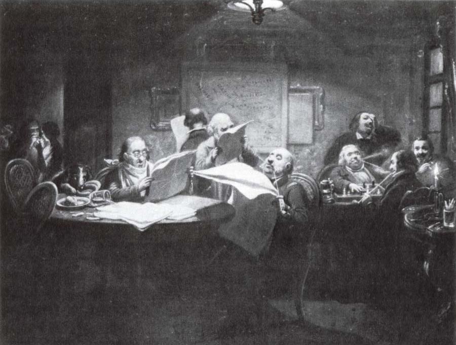 Das Lesekabinett