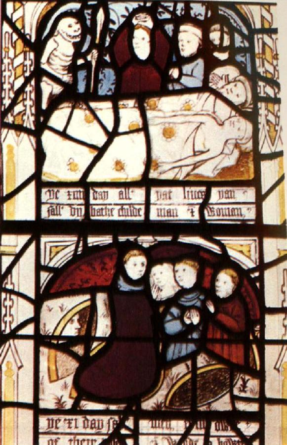 Prykke of Conscience window