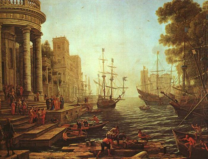 Seaport : The Embarkation of St.Ursula