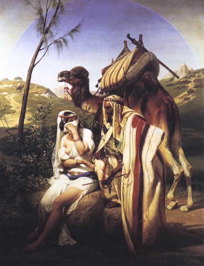 Jehuda and Tamar