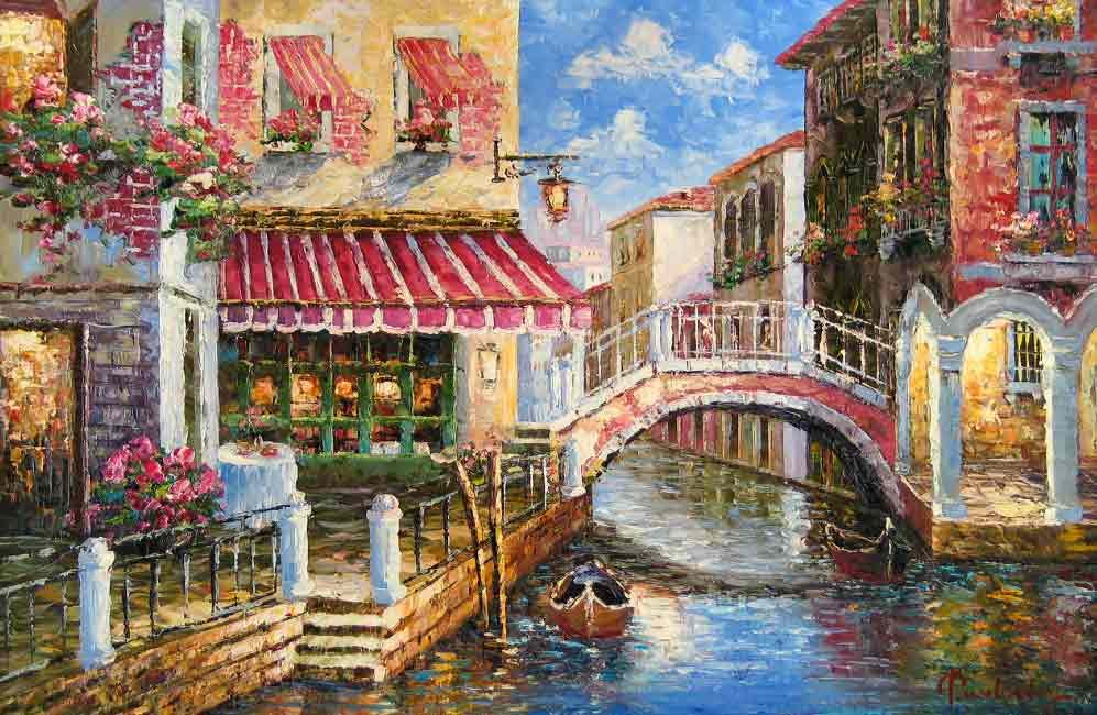 Terrace Cafe in Venice