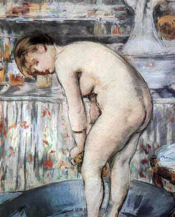 Woman in a Tub