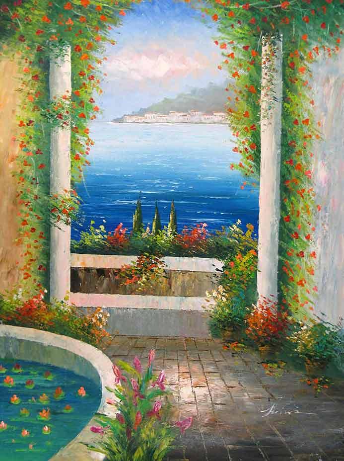 Terrace on The Mediterranean
