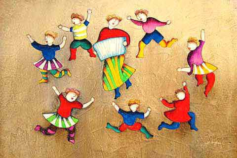 The Children Dancing