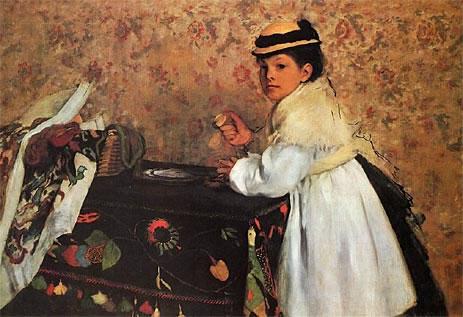 Portrait of Hortense Valpincon as a Child