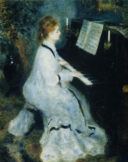 Young Woman at the Piano