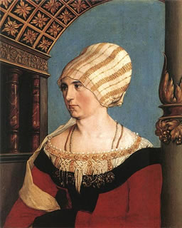 Portrait of Dorothea Meyer, nee Kannengiesser