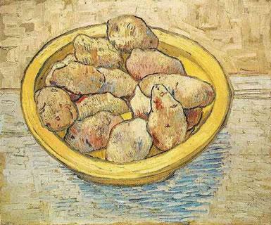 Still Life: Potatoes in a Yellow Dish