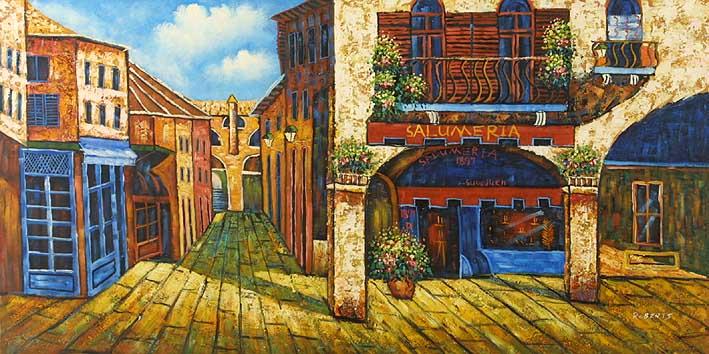 Mediterranean Shopping District