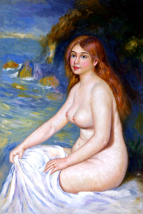Red-haired Nude