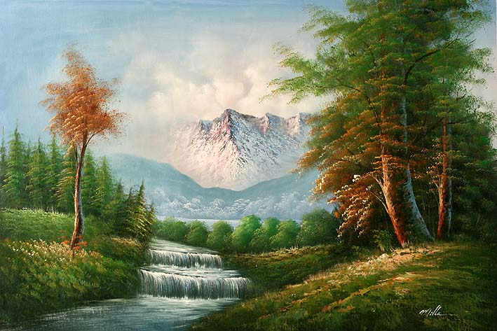مجموعات لوحات Landscape 12303774947389