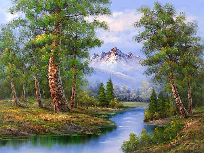 Alp Scenery