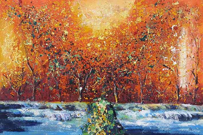 Autumn Snow, I