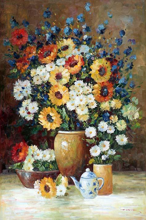 Still Life Impressionist Style
