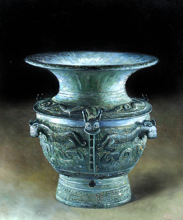 The Vase, Craftwork from Ancient China