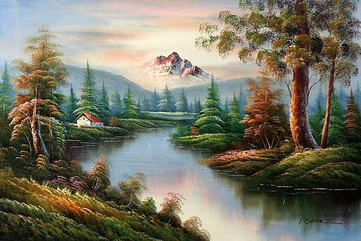 مجموعات لوحات Landscape 12303779242806