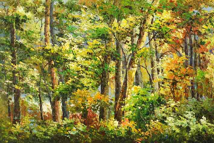 Dense Grove of Trees