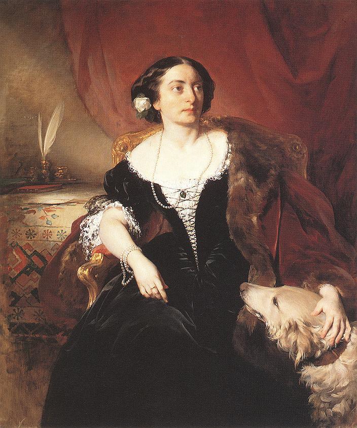 AMERLING Friedrich von Countess Nako
