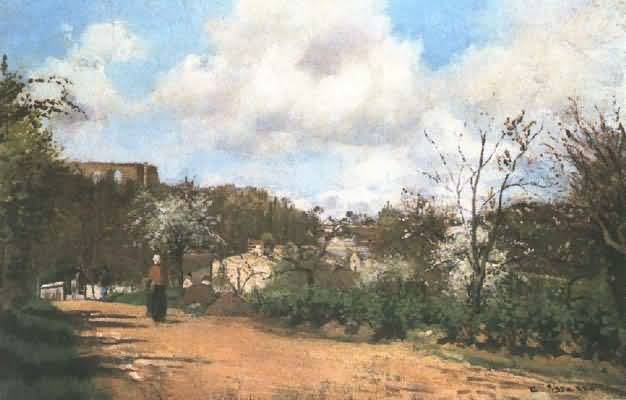 Camille Pissarro Pathway at Chou in March