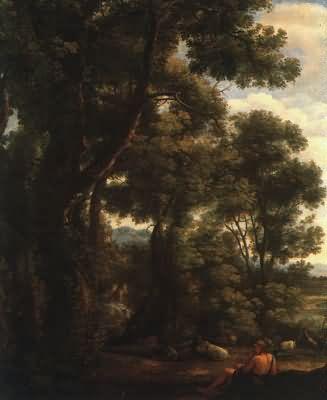 Claude Lorrain Landscape with Goatherd