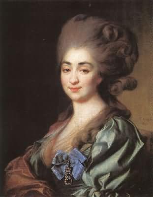 Dmitry Levitsky Portrait of Princess Praskovia Repnina