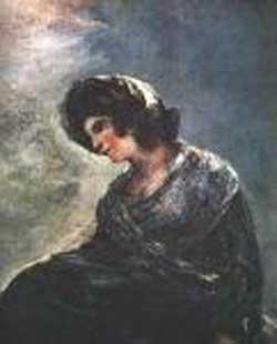 Francisco Goya Thye Milkmaid of Bordeaux