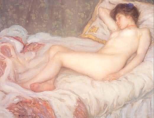 Frederick Carl Frieseke Sleep
