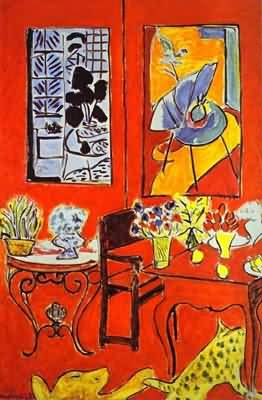 Henri Matisse Large Red Interior