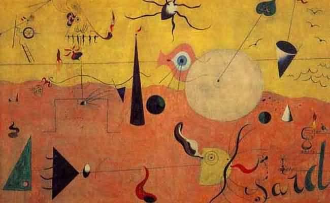 Joan Miro Landscape