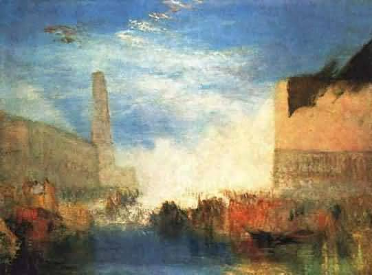 Joseph Mallord William Turner Venice Buildings