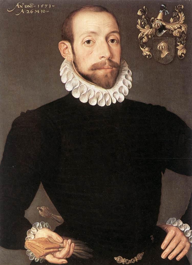 POURBUS Pieter Portrait of Olivier van Nieulant