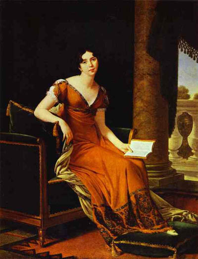 Robert Lefevre Portrait of Elisabeth Demidova