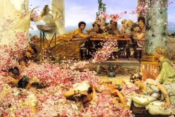Sir Lawrence Alma Tadema Sketch for the roses of heliogabalus